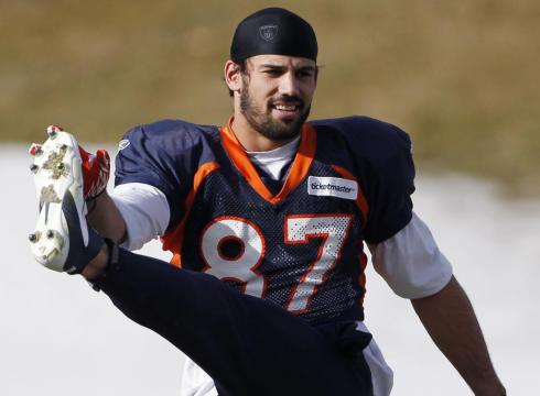 Broncos' Decker, long snapper out vs. Patriots – USATODAY.
