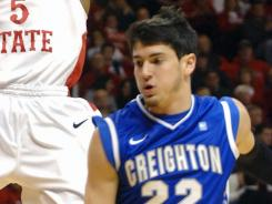 Avery Dingman and No. 21 Creighton ran their winning streak to five games with a road win over Illinois State.