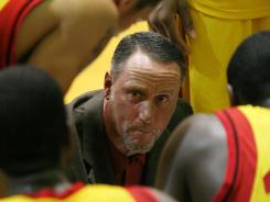 Oak Hill (Mouth of Wilson, Va.) coach Steve Smith said he wasn't nervous before his team's game Saturday with No. 12 Prestonwood Christian (Plano, Texas).