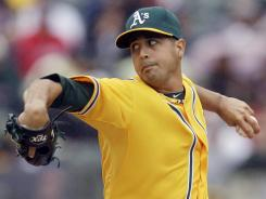 Gio Gonzalez Gonzalez went 16-12 last season with the Athletics.