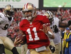 Criticized throughout his career, quarterback Alex Smith has the 49ers one win from the Super Bowl.