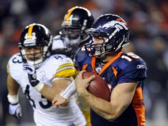 The Steelers chased Tim Tebow but ended up out of the playoffs.