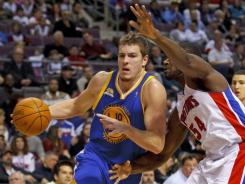 David Lee led the way for the Warriors with 24 points. He was one of six Golden State players to reach double figures in the win over the Pistons.