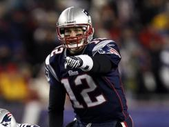 After throwing a playoff record-tying six TDs against the Broncos, Tom Brady has the Patriots pointed towards the Super Bowl.