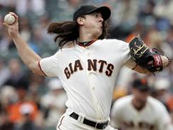 Giants ace Tim Lincecum asked for $21.5 million in arbitration, just shy of the record Roger Clemens requested before the 2005 season.
