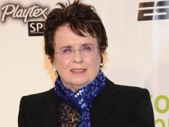 """I totally respect her opinion, but I don't agree with her at all,"" Billie Jean King says of Margaret Court."