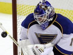 St. Louis Blues goalie Brian Elliot is 15-5-1 with five shutouts this season.