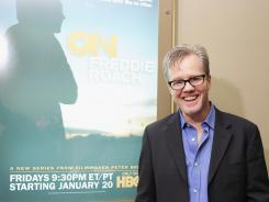 "Freddie Roach said it was tough watching his life unfold in HBO's new series ""On Freddie Roach,"" which premieres on Friday night."
