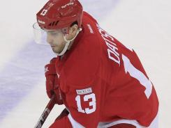Detroit Red Wings center Pavel Datsyuk's puck wizardry led five power rankings panelists to say they'd take him first.
