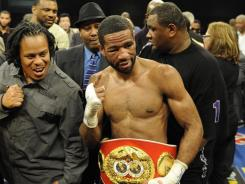 Lamont Peterson still has not decided if he will grant a rematch to Amir Khan, whom Peterson beat on Dec. 10 to win the WBA and IBF titles.
