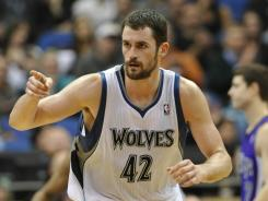 The Minnesota Timberwolves love having power forward Kevin Love, who just wants to play for a winner.