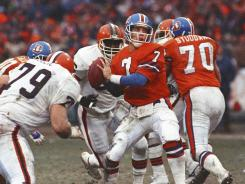 "While the Super Bowl has all the glamour, conference championship games create legends like John Elway's ""The Drive"" against the Cleveland Browns on Jan. 12, 1987, in the Denver Broncos' AFC title game victory."