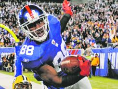 Hakeem Nicks is the Giants' top vertical threat, averaging 21.5 yards a reception in the playoffs. Nicks caught 76 passes for 1,192 yards and seven touchdowns during the regular season.