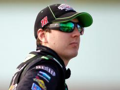 Kyle Busch, pictured, will be his brother's boss in 2012. Kurt Busch will drive for Kyle in the NASCAR Nationwide Series.