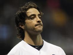Ryan Braun, seen here during the NLCS in 2011, is in New York appealing his 50-game suspension for banned substances.