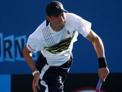 Bob Bryan of the USA is chasing a Grand Slam doubles title with brother Mike, while his wife at home prepares to have their baby.
