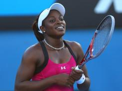 Sloane Stephens is among the up-and-comers U.S. tennis fans hope can step in and follow the Williams sisters.