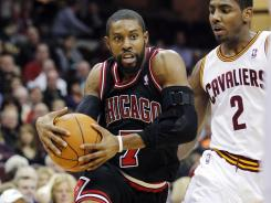 C.J. Watson (7) had 15 points and seven assists as five Bulls scored in double figures in Chicago's rout of Cleveland.