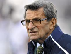 Joe Paterno coached Penn State for 46 seasons and won 409 games before being fired in November.