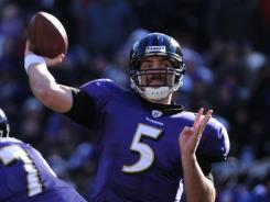 Baltimore Ravens quarterback Joe Flacco has won at least one playoff game in each of the past four years.