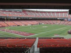 Candlestick Park has been home to the San Francisco 49ers since 1971.