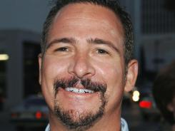 Jim Rome, here in September 2005 at a movie premiere, was brought on at CBS to help put their sports network on the map.
