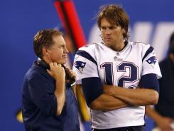 That magic couple, Patriots coach Bill Belichick and quarterback Tom Brady have again achieved the Super Bowl spotlight.