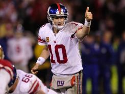 Eli Manning and the New York Giants' unlikely run through the playoffs is eerily familiar.