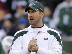 Former New York Jets offensive coordinator Brian Schottenheimer has taken the same position with the St. Louis Rams.