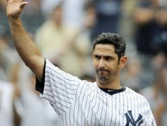 Jorge Posada retired with a .273 career batting average, 275 home runs and 1,065 RBI.