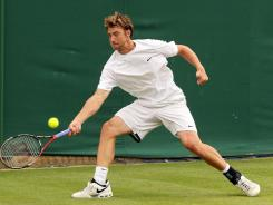 "Brendan Evans, at Wimbledon in 2010, was a hot U.S. prospect only a few years ago. ""When I came up, everything was, 'Go pro! Go pro! Go pro!' "" he says. Evans never made it on the circuit, retired and is now enrolled at the University of Virginia."