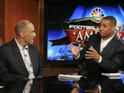 Tony Dungy and Rodney Harrison are taking their talents to Top Chef.