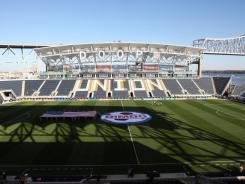A general view of the interior of PPL Park prior taken Oct. 30, 2011.