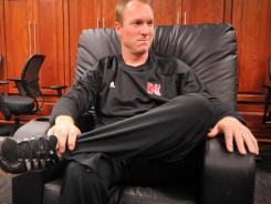 Darin Erstad, who also was a punter on Nebraska's football team before becoming a major league All-Star, is taking over the Cornhuskers' baseball program after just one season as a volunteer assistant.