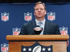 Commissioner Roger Goodell has been an NFL employee since 1983.
