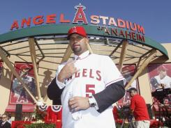 Albert Pujols signed a 10-year, $240 million deal with the Angels.