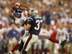 Rodney Harrison, beaten by David Tyree's circus catch on the Giants' winning drive in Super Bowl XLII, says he wouldn't do anything differently on the play.