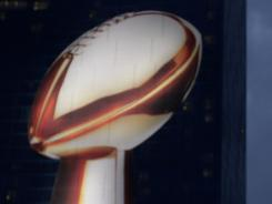 The New York Giants and the New England Patriots played for the Vince Lombardi Trophy for years ago in the Super Bowl.