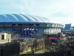 The Vikings have played at the Metrodome since 1982.