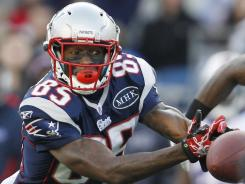 Patriots WR Chad Ochocinco scored juse one TD in 2011.