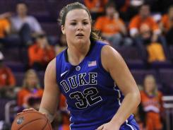 Tricia Liston scored a game-high 16 points to help the Blue Devils improve to 8-0 in the ACC.