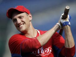 Hunter Pence and the Phillies agreed to a $10.4 million, one-year contract.