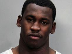 Aldon Smith was booked Saturday morning and held on $1,000 bond after he was arrested by Miami Beach police.