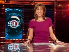 ESPN's Hannah Storm debuts her show Tuesday at 9 p.m. ET.