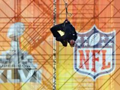 A few blocks from Lucas Oil Stadium, one can ride a zipline.