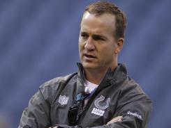Fans are wondering if quarterback Peyton Manning will return with the Colts next season.