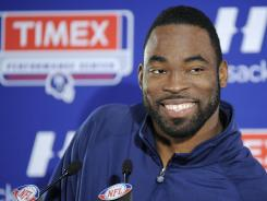 Justin Tuck says he's ready to play for the NFL championship for the second time in his career.