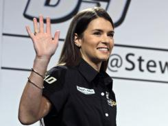 Danica Patrick will get Dave Blaney's points from last season and share a ride with David Reutimann for the 2012 Sprint Cup campaign.