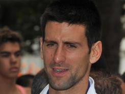 Novak Djokovic won't play for Serbia in the Davis Cup first-round match vs. Sweden.