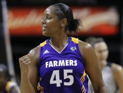 Noelle Quinn started 23 out of 33 games last season for the Los Angeles Sparks. For her career she's averaged 6.1 points per game, to go with 3 assists and 2.8 rebounds.